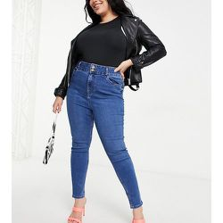 New Look Curve - Jean skinny taille haute effet gainant et push-up - New Look Plus - Modalova