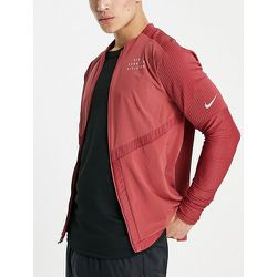 Run Division Statement Element - Sweat-shirt entièrement zippé - Bordeaux - Nike Running - Modalova