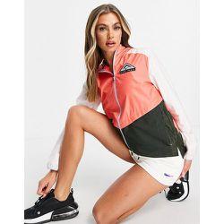 Trail - Veste effet color block à capuche - Nike Running - Modalova