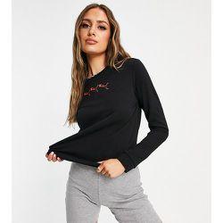 Sweat-shirt à logo félin répété - - Exclusivité ASOS - Puma - Modalova
