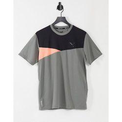 T-shirt de sport color block à manches courtes - Puma - Modalova