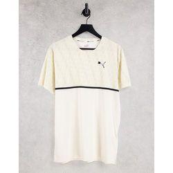 Training - T-shirt à logo graphique - Crème - Puma - Modalova