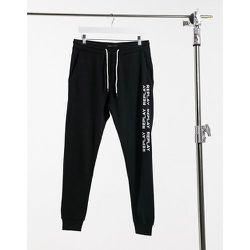 Pantalon de jogging à chevilles resserrées avec logo - Replay - Modalova