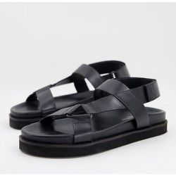 Sandales chunky style sport en cuir de qualité supérieure - Silver Street - Modalova