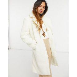 Manteau long en peau de mouton - cassé - Sixth June - Modalova