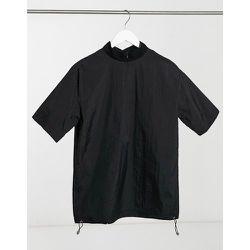 T-shirt col montant en nylon - Sixth June - Modalova