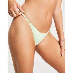 Bas de bikini à carreaux vichy - South Beach - Modalova