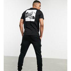 Exclusivité ASOS - T-shirt à imprimé graphique montagne - The North Face - Modalova