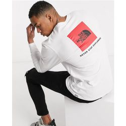Red Box - T-shirt manches longues - The North Face - Modalova