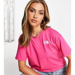 Simple Dome - T-shirt crop top - clair - Exclusivité ASOS - The North Face - Modalova