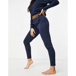 Originals - Pantalon de confort en jersey à taille avec logo - Bleu - Tommy Hilfiger - Modalova