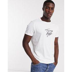 T-shirt confort avec logo en toutes lettres - Tommy Hilfiger - Modalova