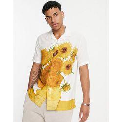 Chemise à imprimé tournesols Vincent van Gogh - Topman - Modalova