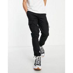 Pantalon cargo skinny avec poches sur les côtés - Noir - Topman - Modalova
