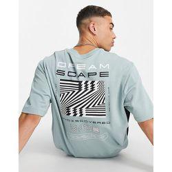 Sweat-shirt à imprimé Dreamscape - Topman - Modalova