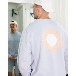 Sweat-shirt à imprimé Lisbon - Topman - Modalova