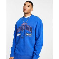 Sweat-shirt à imprimé North Carolina - Sweat-shirt - Topman - Modalova