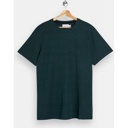 T-shirt à carreaux d'ensemble - Topman - Modalova