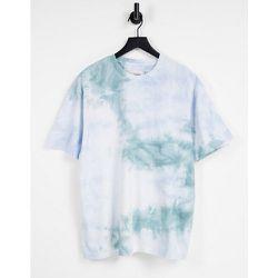 T-shirt oversize effet tie-dye - Topman - Modalova