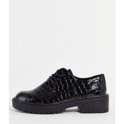 Leon - Chaussures à lacets - croco - Topshop - Modalova