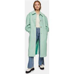 Manteau à manches bouffantes - aigue-marine - Topshop - Modalova