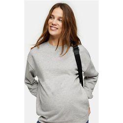 Maternity - Sweat-shirt avec slogan «Motherhood» - Topshop - Modalova