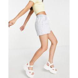 Millie - Short en jean à enfiler - Délavé - Topshop - Modalova