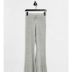 Petite - Pantalon évasé en maille - Topshop - Modalova