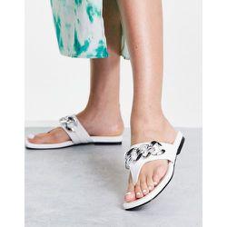 Promise - Sandales à chaîne - Blanc - Topshop - Modalova