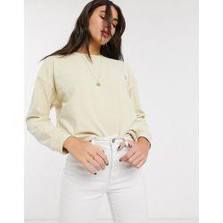 Topshop - Sweat-shirt - Écru-Blanc - Topshop - Modalova