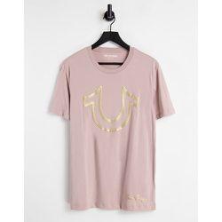T-shirt à imprimé métallisé - True Religion - Modalova