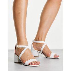 Sandales à talon carré mi-haut - Truffle Collection - Modalova