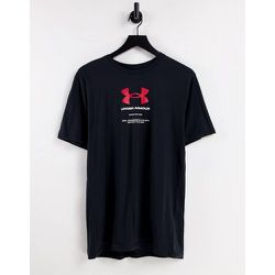 T-shirt avec logo symbole - et rouge - Under Armour - Modalova