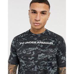 Training Tech - T-shirt avec logo sur le devant et imprimé camouflage - Under Armour - Modalova