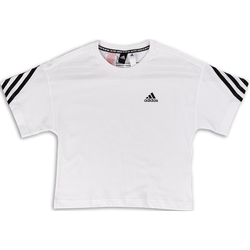 Organic Cotton Future Icons Sport 3-Stripes Loose T-shirt - Primaire-College T-Shirts - Adidas - Modalova