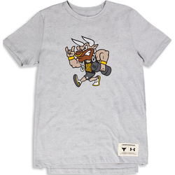 Boys The Rock Graphic Shortsleeve - Primaire-College T-Shirts - Under Armour - Modalova