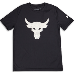 Boys The Rock Bull Logo Shortsleeve - Primaire-College T-Shirts - Under Armour - Modalova