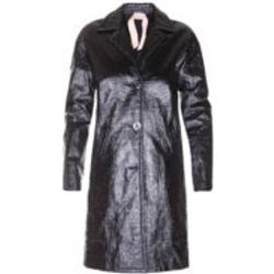Manteau En Cuir - Noir - N°21 - Modalova