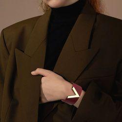Bracelet en cuir PU lettre - SHEIN - Modalova