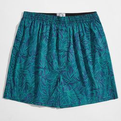 Short de pyjama avec motif plante - SHEIN - Modalova