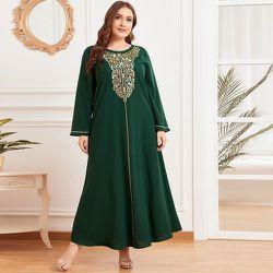 Robe tunique longue avec imprimé - SHEIN - Modalova