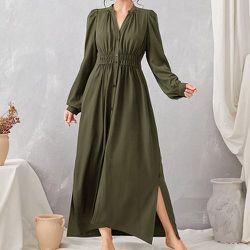 Robe chemise fendue - SHEIN - Modalova