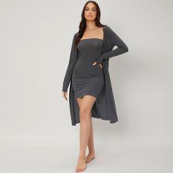 Robe bustier confortable & peignoir - SHEIN - Modalova
