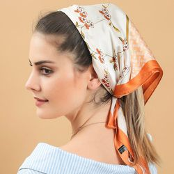 Foulard avec imprimé foulard - SHEIN - Modalova