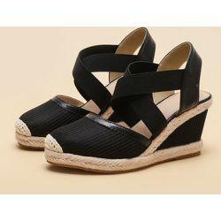 Chaussures compensées espadrilles minimalistes - SHEIN - Modalova