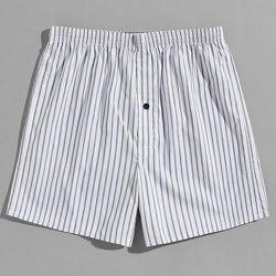Short de pyjama à rayures taille élastique - SHEIN - Modalova