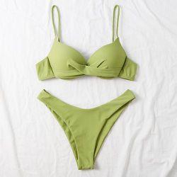 Bikini push-up torsadé - SHEIN - Modalova