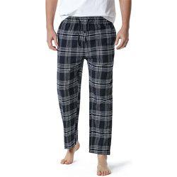 Pantalon de pyjama à imprimé carreaux - SHEIN - Modalova