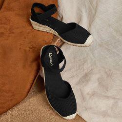 Sandales espadrilles compensées - SHEIN - Modalova