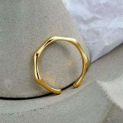 Bague en plaqué or - SHEIN - Modalova
